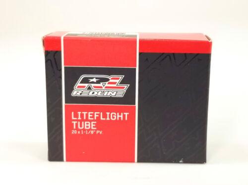 "Redline Liteflight 20 x 1-1//8/"" Léger Vélo BMX Tubes Presta Valve"
