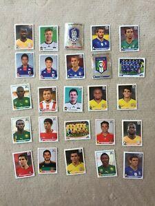 Panini-Sticker-Fussbal-WM-2010-25-Stueck-I