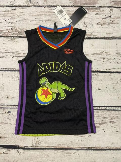 adidas Disney Pixar Toy Story Andy Basketball Jersey Tank Top ...