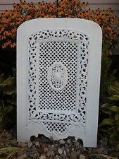 ANTIQUE ARCHED CAST IRON VICTORIAN FIREPLACE COVER