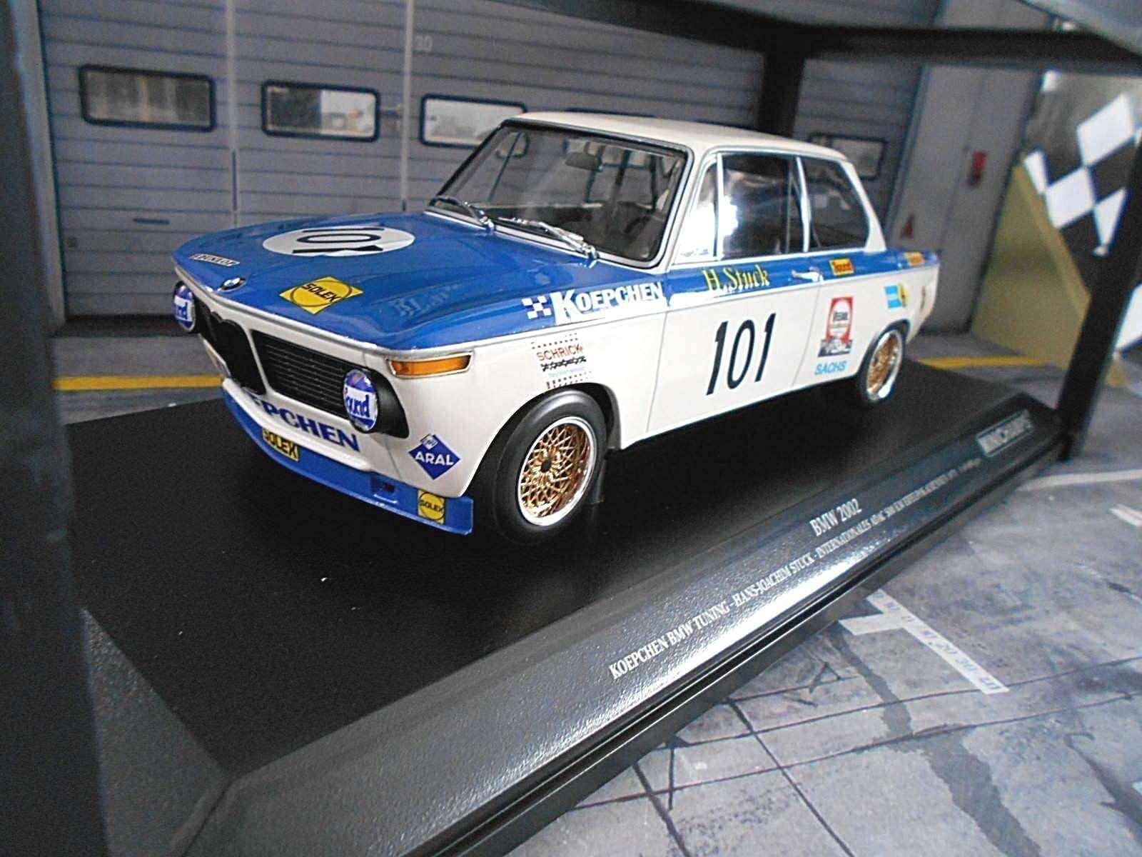BMW 2002 2002 2002 DRM  101 stuc Koepchen Tuning Eifel course Winner 1971 Minichamps 1 18 213043