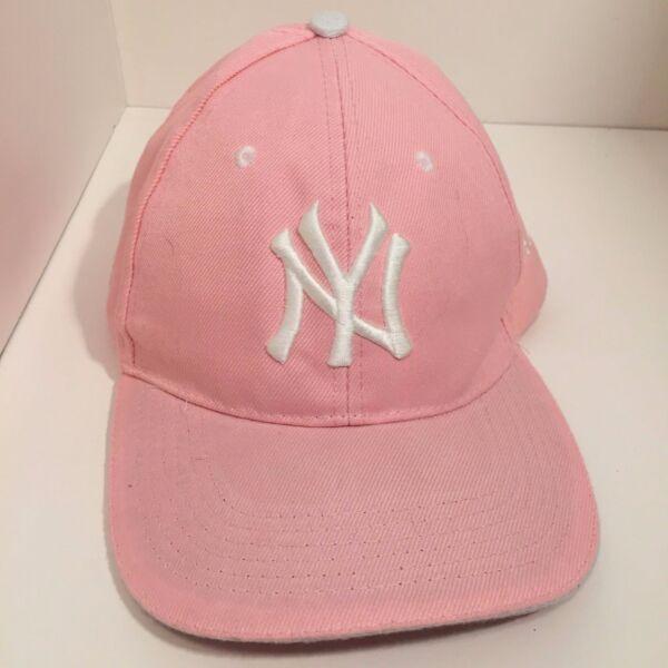 NY New York Yankees MLB Light Pink Baseball Hat Cap Adjustable fs DD d64a690b6d06