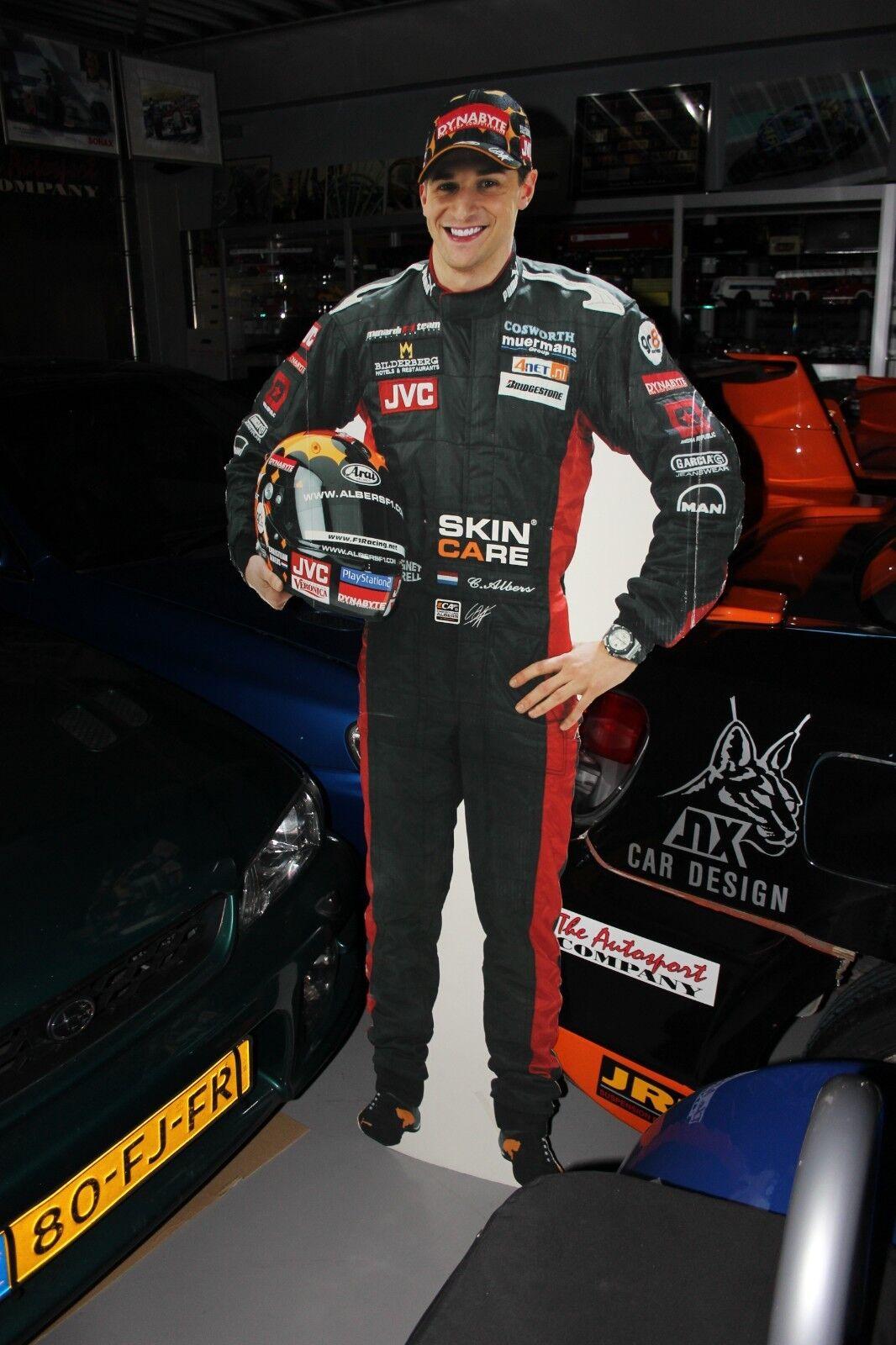 marca Cochedboard Figurine Figurine Figurine Christijan Albers European Minardi Team (height 182 cm)  en promociones de estadios