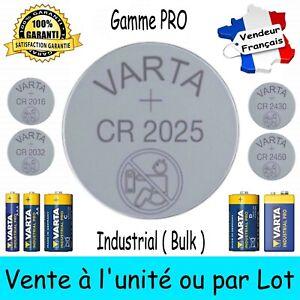 VARTA BULK CR2025 Dispo aussi Piles 2430 2450 2016 2032 LR6 LR03 6LR61 LR14 LR20