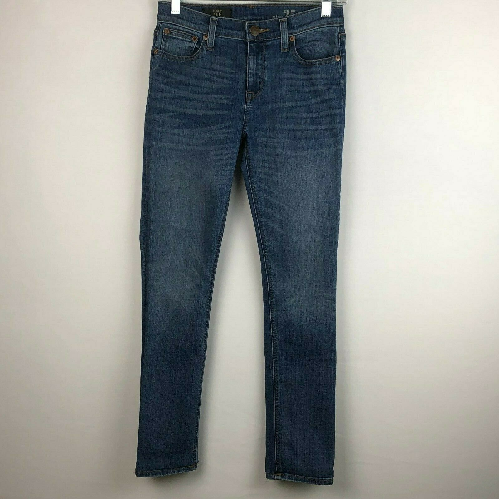 J Crew Para Mujer Reid Jeans Tobillera 25 P real real real de 26 X 27.5 ad6e06