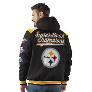 Image is loading Pittsburgh-Steelers-6-Time-Super-Bowl-Champions-Hooded- 98c832ac5