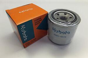 Genuine Kubota KX71-3S Excavator Spin On Fuel Filter 1522143170-1522143080