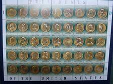 MARSHALL INSELN 2013 Münzen US-Präsidenten Coins Bogen ** MNH