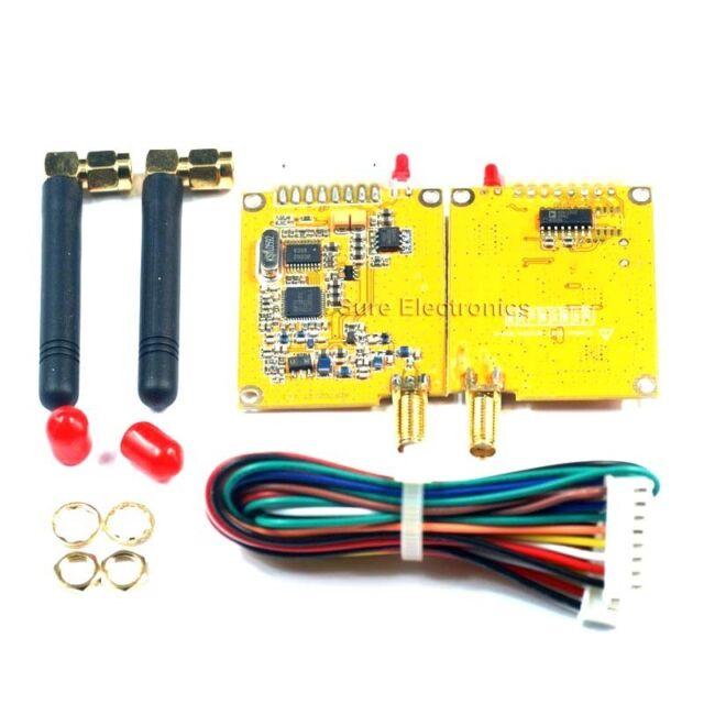 2.8Km 27dBm Wireless Transceiver RF Module RS232 TTL x2
