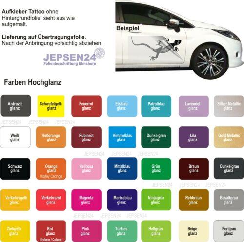 Farbwahl Aufkleber No Fear Autoaufkleber 70x36cm C68 Hardcore Heckfenster