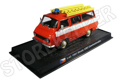 Fire Truck Czechoslovakia 1981-1//43 Skoda Taz 1203 No33