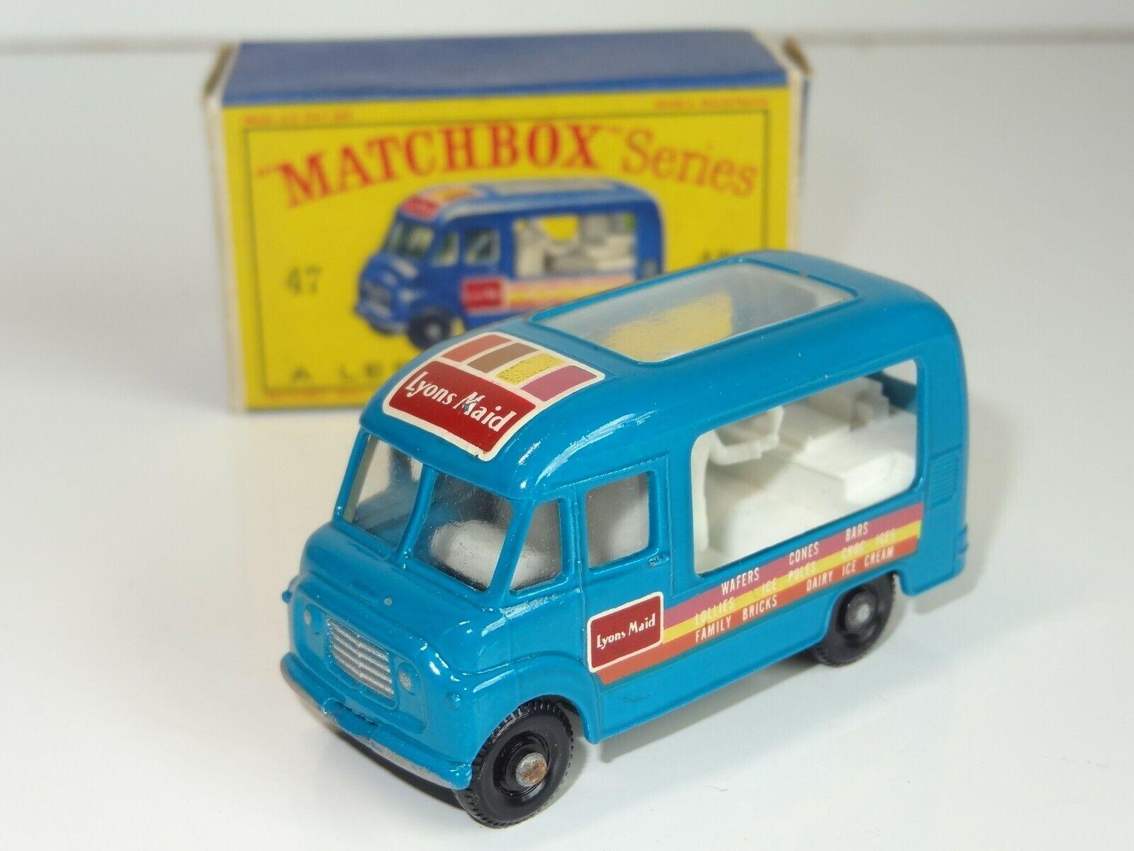 Matchbox Lesney Lyons Maid helado tienda móvil - 47 (210)