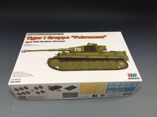 Ryefield-Model RM5005 1//35 Pz.Kpfw.VI Ausf.E Sd.Kfz.181 Tiger I Gruppe Fehrmann