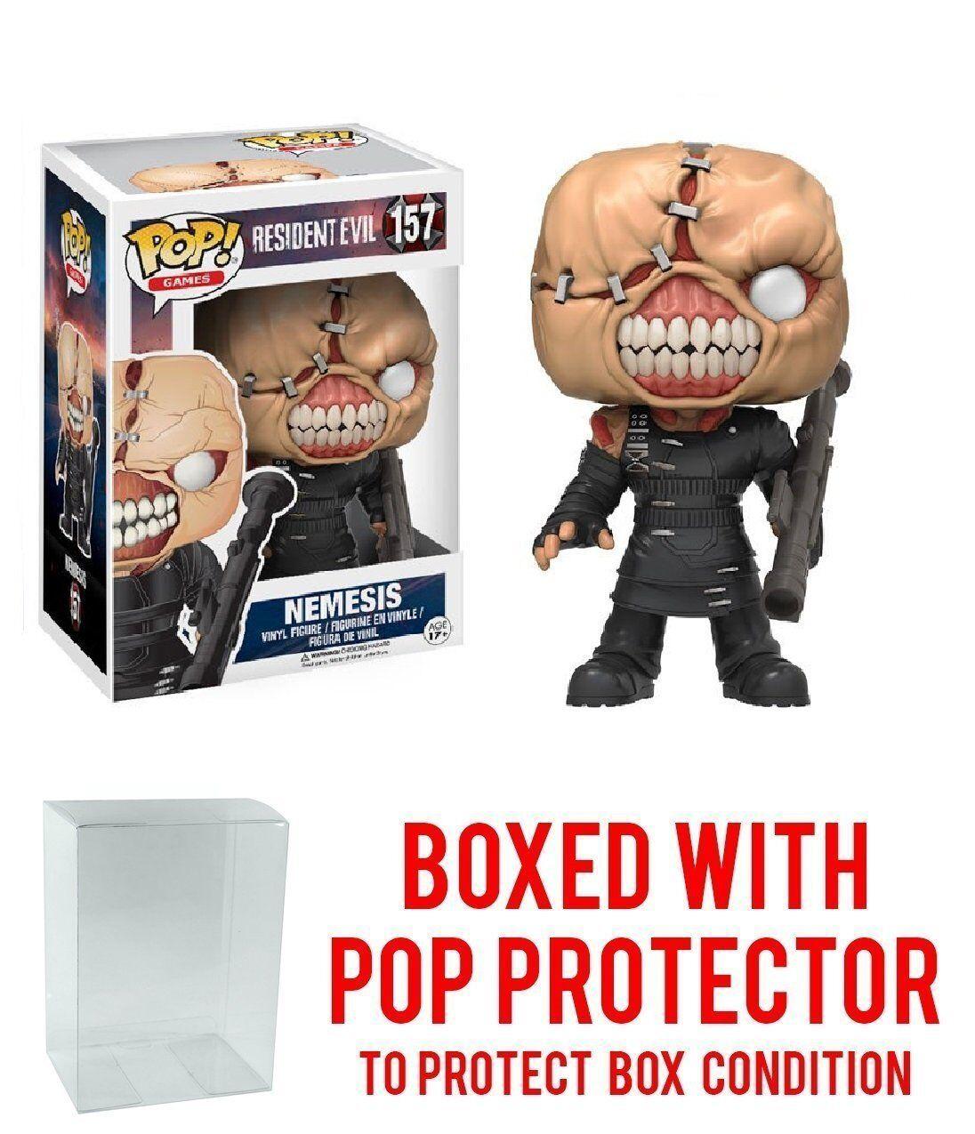 Funko Pop  Games: Resident Evil The Nemesis 157 11755 Protector case