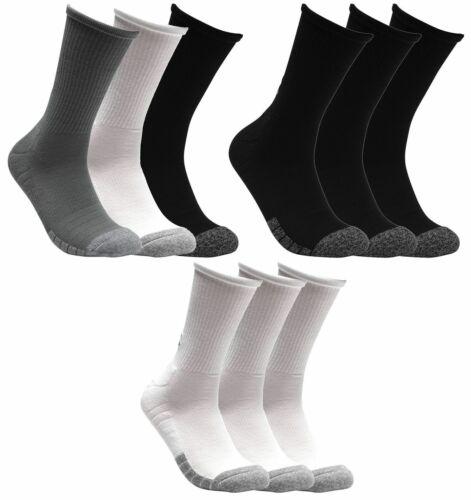 9 Paar Under Armour HeatGear Crew Socken Unisex Sportsocken