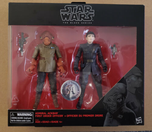 "Star Wars /""The Black Series General Ackbar /& First Order/"""