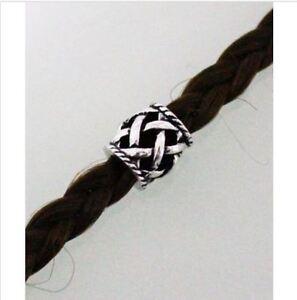 Bartschmuck Bead Keltisch Folklore Haarperle Anhänger Knoten Schmuck Silber