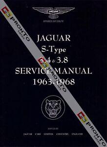 factory workshop service repair manual book jaguar s type s type 3 4 rh ebay com