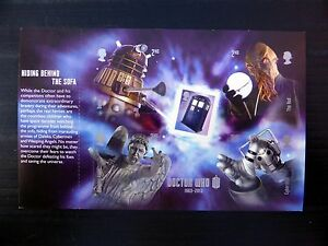 GB-2013-Dr-Who-Self-adhesive-M-Sheet-Ex-PSB-FP8874