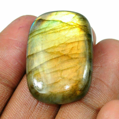 Seleccionar de 9 piezas de brillo dorado piedras preciosas naturales africanos Labradorita