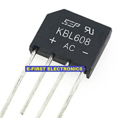 50pcs KBL608 KBL 608 6A 800V Bridge Rectifiers SEP