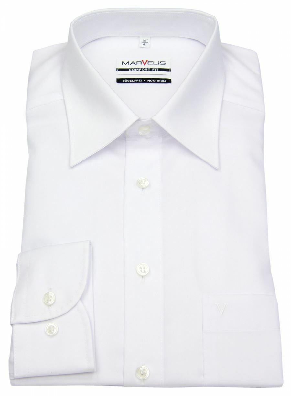 White Poplin Classic Collar