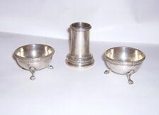 Antico Tris Sale Pepe Stuzzicadenti in argento 800 Marcato Broggi Antique Silver