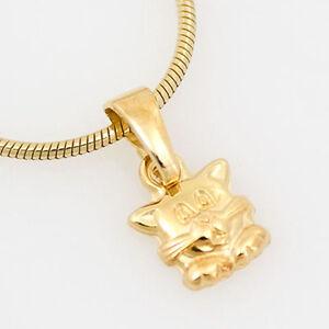 goldener Kettenanhänger 333er Gold 8 Karat Gelbgold Hase Häschen Anhänger NEU