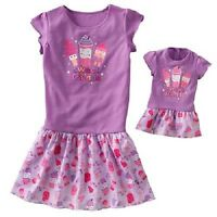 Girls & Dolls (american 18) Matching Nightgowns 6x