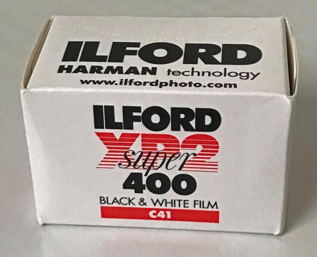 Ilford XP 2 Super 400ISO 36 Tomas 1 Película Mhd 09/2021