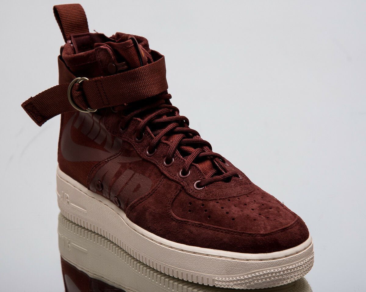 Nike SF Air Force 1 Mid Men New AF1 Pueblo Brown Lifestyle Sneakers 917753-202