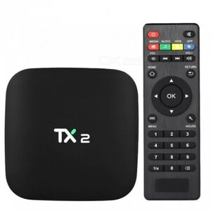 Remote-Control-for-TX2-Android-TV-Box-Controleur-de-Remplacement