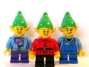 Lego 1 X  Elf Hat For Minifigure Figure  Xmas Christmas Santa Santas Helper