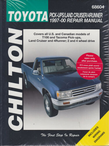 car manuals & literature 1997-2000 toyota pick-ups land cruiser 4runner  tacoma chilton repair manual 417x wacker-dentaltechnik  wacker dentaltechnik