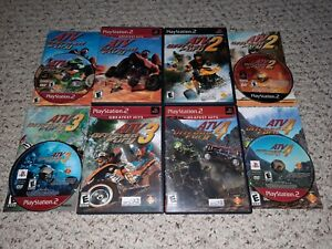 ATV-Offroad-Fury-1-2-3-4-Lot-PlayStation-2-PS2-COMPLETE-TESTED-FAST-SHIPPING
