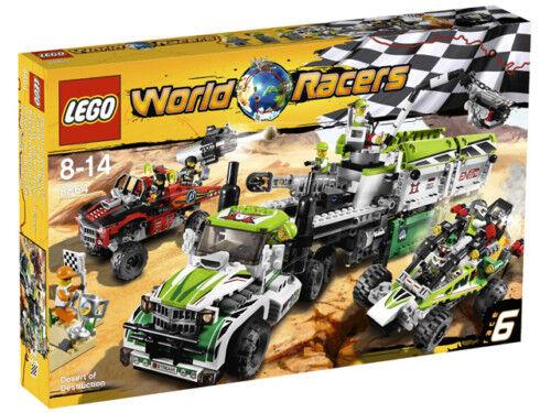 LEGO WORLD RACERS SCONTRO NEL DESERTO 8864 8864 8864 FUORI CATALOGO  8 - 14 ANNI f5cfe2
