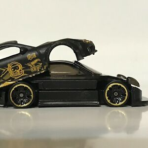 Hot Wheels LOOSE 2020 Tanner Fox PORSCHE 911 GT3 RS Custom SUPER w//Real Riders G