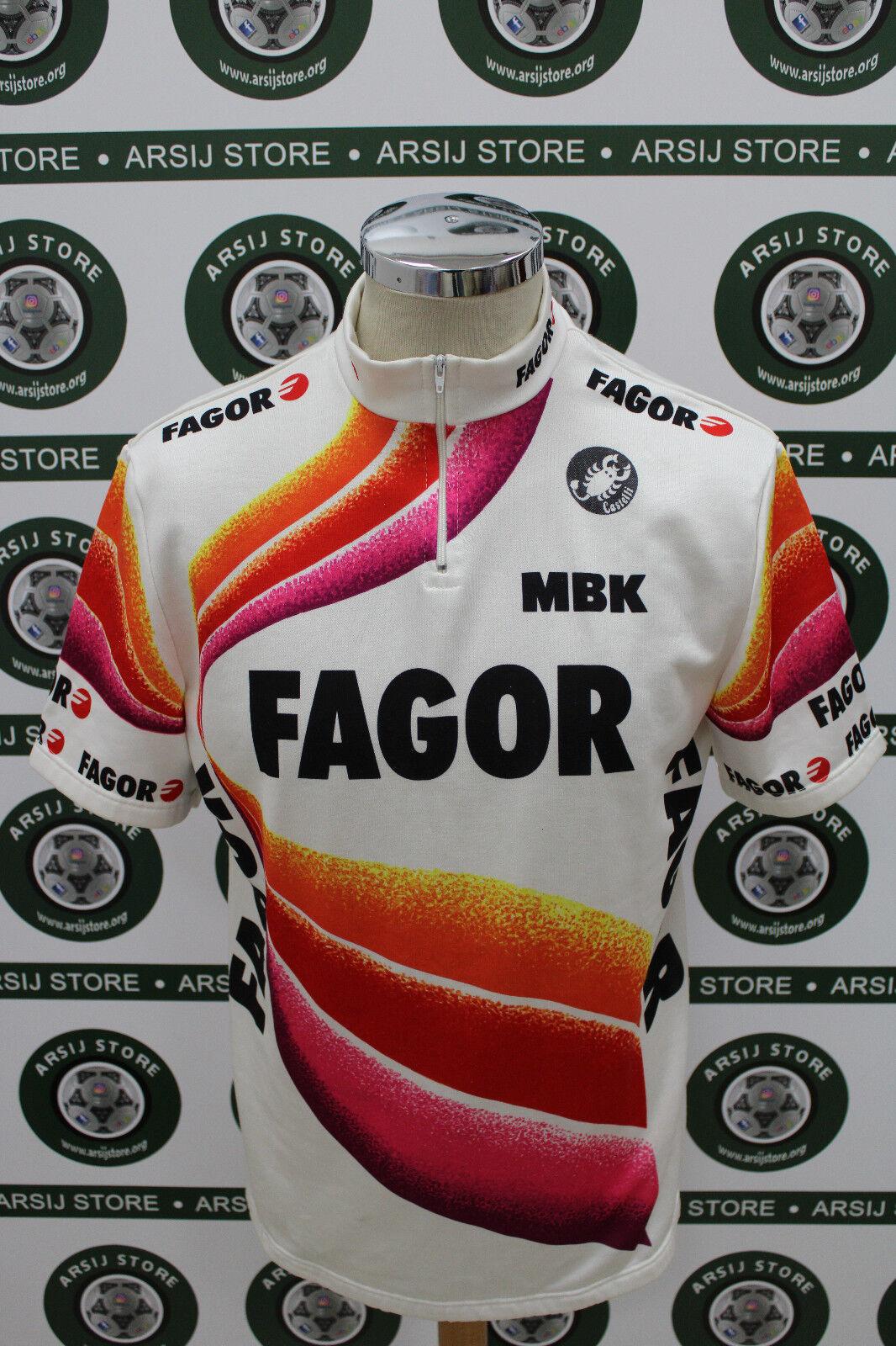 Mesh body Radfahren Fahrrad Shirt Maillot, Yonne Trikot Fagor Castles TG VI g547
