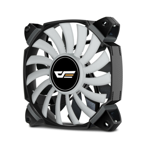 darkFlash 120mm Dual Blade GREEN LED Computer CPU Cooler Case Fan Cooling Quite