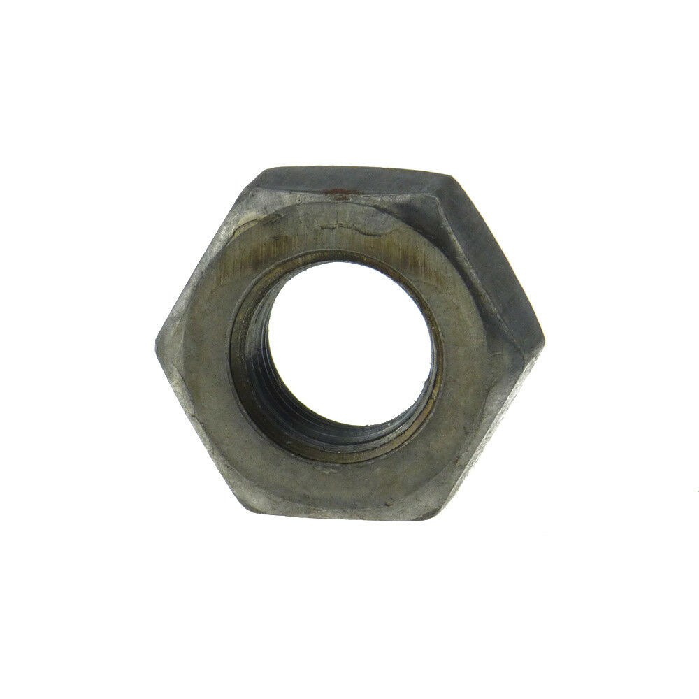 Sechskantmuttern DIN 934 6 AU Stahl blank Feingewinde M 52 - M 120
