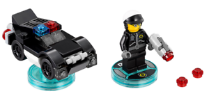 BRAND NEW and UNBOXED LEGO Dimensions LEGO Movie Bad Cop Fun Pack 71213