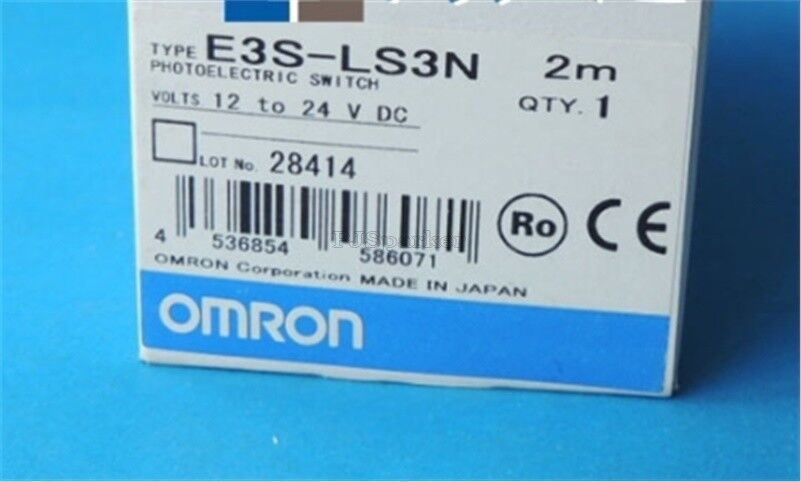 Omron Photoelectric Switch E3S-LS3N 12-24VDC Brand New mb