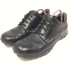 Clarks Men/'s Caribou SMU Lace-Up Black Leather Comfort Shoes Size:8.5W