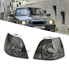 Smoke Corner Lights Parking Lamps PAIR Fits For BMW 3-Series E36 4DR 92-97 1998