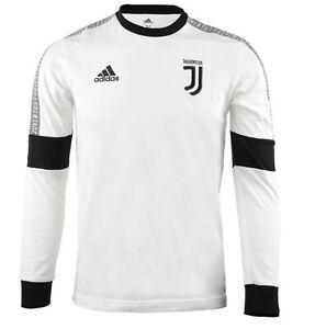 Adidas Men Juventus SSP Training Shirts L/S Soccer White Jersey ...