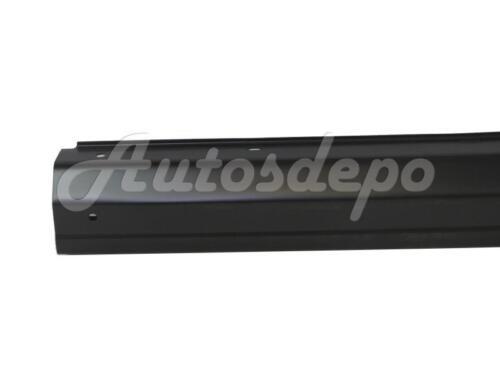 For 1997-2001 Jeep Cherokee Rear Bumper Center Face Bar Primed Black