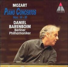Mozart: Piano Concertos Nos. 14-16, New Music
