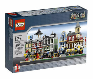 LEGO-Creator-Modular-Buildings-10230-Mini-Modulars-New-Sealed-some-box-wear