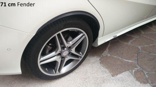 2x RUOTA CARBONIO opt minigonne 120cm per HYUNDAI i20 PB PBT TUNING