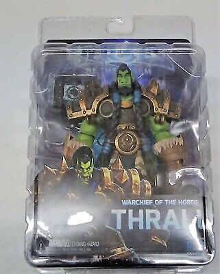 """Heroes of the Storm Thrall NECA Blizzard 7/"""" Scale Action Figure"""